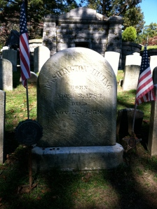 Washington Irving's Grave
