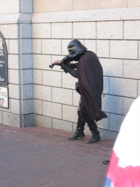 Darth Vader and his Violin