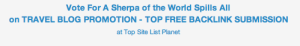 Click through here to vote at Top Site List Planet